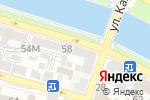Схема проезда до компании Акела в Астрахани