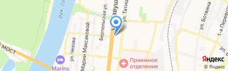 Студия по оформлению воздушными шарами на карте Астрахани