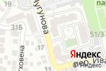 Схема проезда до компании Домашний очаг в Астрахани
