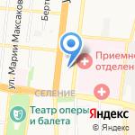 Астраханский учебный центр ФПС на карте Астрахани