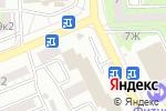 Схема проезда до компании Барбандос в Астрахани