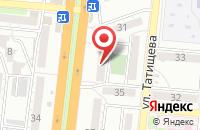 Схема проезда до компании Московский Индустриальный банк в Астрахани