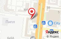 Схема проезда до компании Game creed в Астрахани