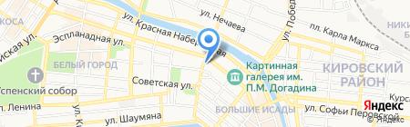 Mik`s на карте Астрахани