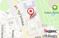 Схема проезда до компании АТОГАЗ в Астрахани
