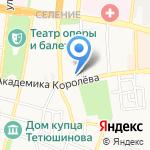 Савиновъ на карте Астрахани