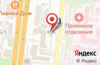 Схема проезда до компании Астраханский учебный центр Федеральной противопожарной службы в Астрахани
