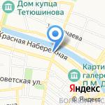 Торгово-сервисная компания на карте Астрахани