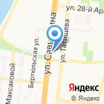 ТОКА ПИЦЦА на карте Астрахани