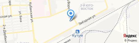 Детский сад №116 на карте Астрахани