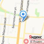Далорес на карте Астрахани