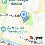 Гинекологическая клиника доктора Бурова на карте Астрахани