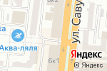 Схема проезда до компании Технология магнитных материалов в Астрахани