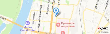 АстРеал на карте Астрахани