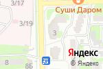 Схема проезда до компании Талантвилль в Астрахани