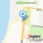 Интерьер+Свеча на карте Астрахани