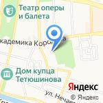 Школа-интернат №3 для обучающихся с ограниченными возможностями здоровья на карте Астрахани