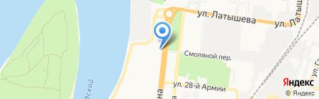 Учебно-консультационный центр на карте Астрахани