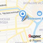 Ваш стоматолог на карте Астрахани