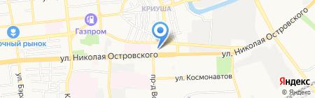 Motus на карте Астрахани