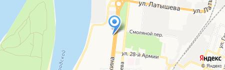 ХАЙТЕК на карте Астрахани