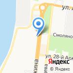 Умный ребенок на карте Астрахани