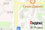 Схема проезда до компании Моя Умничка в Астрахани