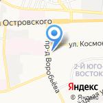 Быстро-фитнес на карте Астрахани