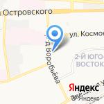 Волго-Каспийский Рыбокомбинат на карте Астрахани