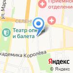Киоск по ремонту обуви на карте Астрахани
