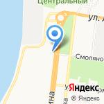 БРОКЕР-ЮГ на карте Астрахани