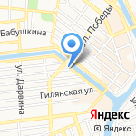 АстраханьГипроЛес на карте Астрахани