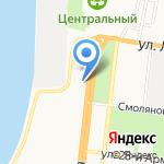 Астраханская городская служба недвижимости на карте Астрахани