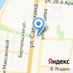 Евгения на карте Астрахани