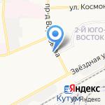 Банкомат на карте Астрахани