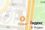 Схема проезда до компании Дриада в Астрахани