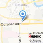 Автоюрист на карте Астрахани