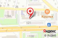 Схема проезда до компании КУРС в Астрахани