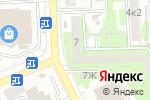 Схема проезда до компании Библиотека №4 в Астрахани