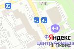 Схема проезда до компании Махан в Астрахани