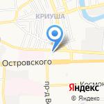 АСК-КЛИНФИКС на карте Астрахани