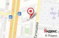 Схема проезда до компании Без базара в Астрахани