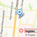 Без базара на карте Астрахани
