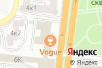 Схема проезда до компании Соланж в Астрахани