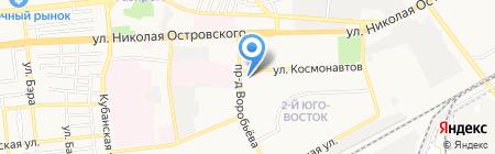 Dali на карте Астрахани