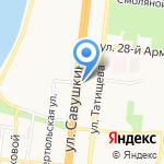 Шаурмист на карте Астрахани