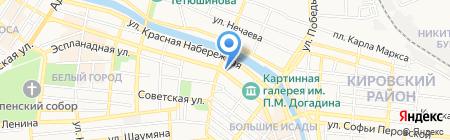 Региональное Управление Федеральной службы по контролю за оборотом наркотиков по Астраханской области на карте Астрахани