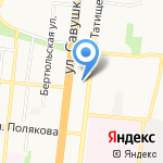 Нотариус Николаева Ю.В. на карте Астрахани