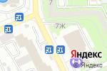Схема проезда до компании Магазин канцелярских товаров и гелиевых шаров в Астрахани