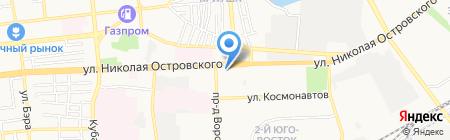 Роспотребнадзор на карте Астрахани